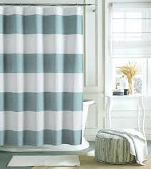 Tommy Hilfiger Curtains Mission Paisley by Tommy Hilfiger Cotton Shower Curtain Wide Stripes Fabric Shower