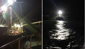 Wicked Tuna Outer Banks Boat Sinks by Sinking Boat Washes Ashore Days After Rescue Wavy Tv