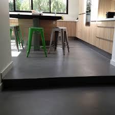 béton ciré sol cuisine extension de maison cuisine sol bton cir angers particuliers pour