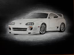 Paul Walker s Toyota Supra Fast and Furious 7 by MaxBechtold on