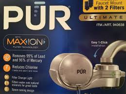 Brita Faucet Mount Instructions by How To Install Pur Water Purification Filter Youtube