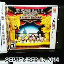 Theatrhythm Final Fantasy Curtain Call Limited Edition by Images Tagged With Theatrhythm On Instagram