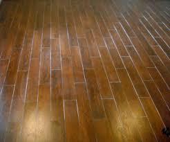 Living Room New Jersey Custom Tile Red Ceramic Floor Wood Pattern