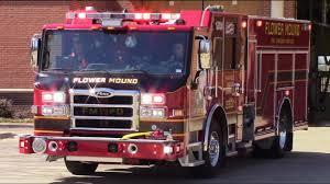 Flower Mound Fire Dept NEW Engine 501 Medic Responding