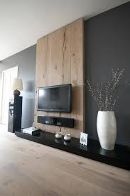 modern wall design living room home decoration holzwand