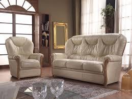 canapé cuir et bois rustique salon rustique cuir et bois 15 canapé 3 places canapé 2 places