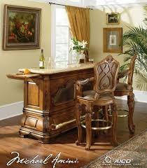 Michael Amini Living Room Sets by Michael Amini Tuscano Biscotti Finish Traditional Bars And Bar