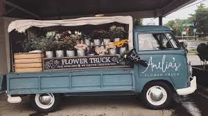 You Can Track The Unique Vintage Truck On Her Website Ameliasflowertruck And Buy Extraordinary Flowers That Are Perfect For Your Instagram