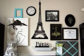 wonderful paris themed bathroom wall decor breakfast at tiffanys