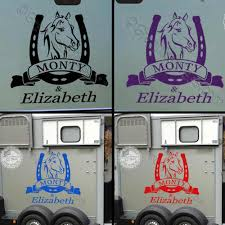Personalised Horse Box Stickers Horse Trailer Vinyl Graphic Decals ... Fashionable Cute Horse Hrtbeat Decorative Car Sticker Styling In Loving Memory Of Decals Two Quarter Name Date Car Window Amazoncom Eye Candy Signs Running Decal Window Running Horse Truck Trailer Vinyl Decal Decals 7 X70 Ebay Want A Stable Relationship Buy Funny Vinyl Flaming Side Graphics Decal Decals Truck Mustang Trailer Flames Cut Auto Xtreme Digital Graphix Gate Open For Lovers Riders Reflective Heart Creative Cartoon Animal Bull Cow Head Skull Silhouette Body Jdm Art Tilted Cat 14x125cm Noahs Cave