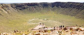 Meteor Crater In Northern Arizona Near Old Route 66