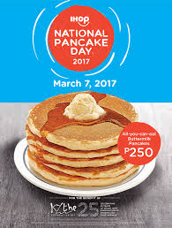 Ihop Halloween Free Pancakes 2014 ihop national pancake day 2017 the peach kitchen