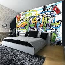 fototapete jugendzimmer graffiti genial 11 besten