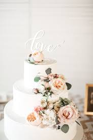 Flower Wedding Cakes Best 25 Cake Fresh Flowers Ideas On Pinterest