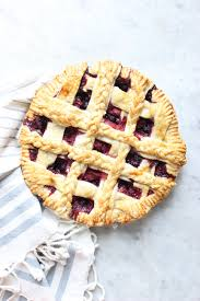 After an egg wash you have a beautifully woven pie