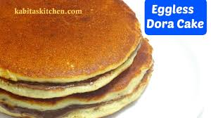 Eggless Dora Cake Recipe
