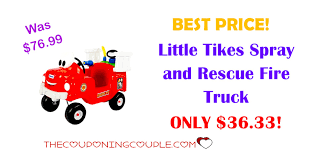 BEST PRICE! Little Tikes Spray And Rescue Fire Truck ONLY $36.33! Little Tikes Fire Engine Cozy Coupe Car In Middlesbrough North Truck 4 Men Chunky People Vintage 80 S Toy Vgc Play Center Ball Pit Multicolor Durable Truck Bed Step 2 Little Tikes Toddler Plastic Firetruck Light Buy At Best Price Malaysia Www Multicolored Little Tikes Trade Me Vintage Toddle Tots 90s W Helicopter And 8 Firemen