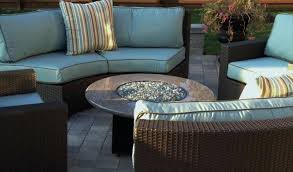 Patio Furniture Conversation Sets With Fire Pit by Fire Pit Conversation Set Living Meridian Outdoor Wicker Patio