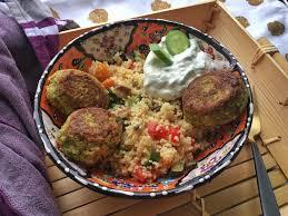 couscous salat mit ofengemüse