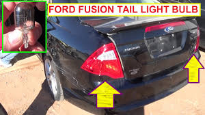 ford fusion brake light light turn signal light bulb