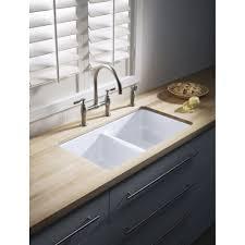 Soapstone Laundry Sink Ebay by Kohler K 6131 4 Vs Parq Vibrant Stainless Steel Two Handle Bridge