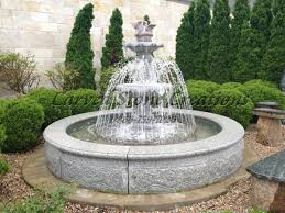 Two Tiered Outdoor Garden Fountain DMA Homes