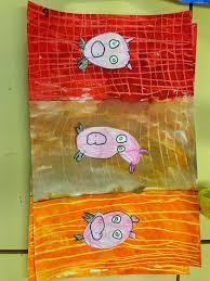 Les Trois Petits Cochons Fofy à Lécole