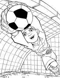 U Soccer Coloring Pages To Print