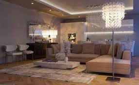 decorations modern open living room design with freestanding