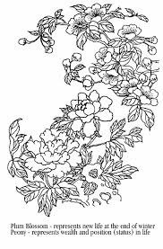 Asian Coloring Pages
