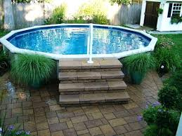 Diy Above Ground Pool In Kits Concrete