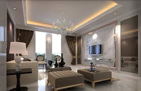 Beautiful Living Hall Design With Ceiling Lights Simple RoomClassic