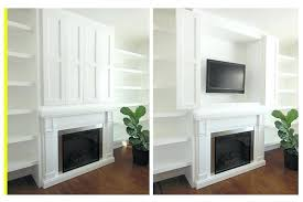 tv cabinet hide tv hidden flat screen television in a built in cabinet storage solution hidden