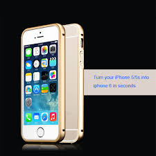 iPhone 5S 5 Case Cover turn iPhone 5s into iPhone 6