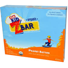 Clif Bar Kids Organic Z Peanut Butter 6 Bars