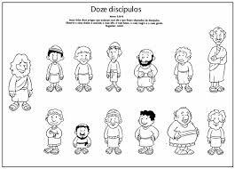 Dibujos Para Catequesis LOS DOCE APÓSTOLES