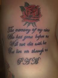 Memorial Tattoos3D Tattoos