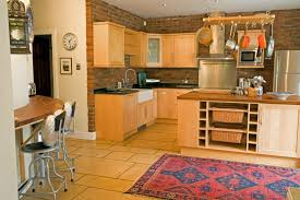 Kitchen From Dining Room Entrance