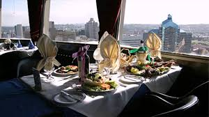 Skylon Tower Revolving Dining Room by Roma Revolving Restaurant Menu Prices Youtube