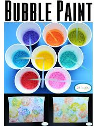 Easy Art Activities For Kindergarten Blow Bubbles To Make What A Fun Messy Project Kids Of