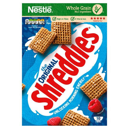 Nestle Shreddies Original Cereal - 415g