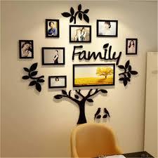 3D Acrylic DIY Wall Stickers DIY Family Photo Frame Tree