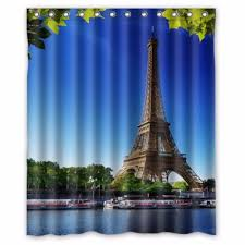 Paris Eiffel Tower Bathroom Decor by Compare Prices On Paris Shower Curtains Online Shopping Buy Low