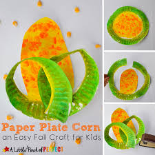 Paper Plate Corn Craft Easy For Kids To Make Fall Farm