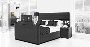 boxspringbett luxury monaco mit tv lift