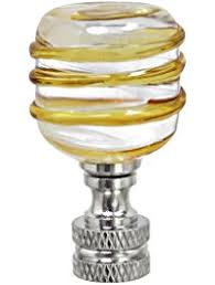 Crystal Glass Lamp Finials by Lamp Finials Amazon Com