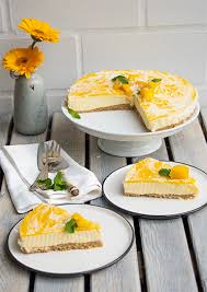 mango kokos cheesecake no bake