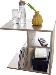 finebuy beistelltisch nilo 50x50x30 cm holz sonoma design anstelltisch sofa couchtisch klein modern kleiner wohnzimmertisch eckig sofatisch