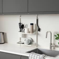 sunnersta aufbewahrungs set küche ohne bohren bod abtrgest behälter