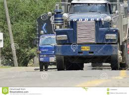 100 Nation Trucks Vintage Truck Tractor Trailer Editorial Image Image Of Semi